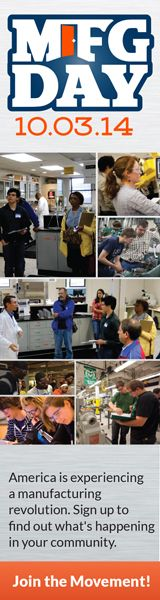 MANUFACTURING DAY OCT 3RD 2014
