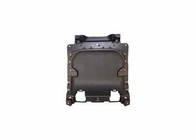 Part Name: Back Panel Inner<br>Tool Info: 1 Cavity Aluminum Production Mold<br>Resin: Polypropylene