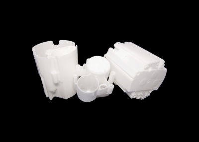 Part Name: Automotive Underhood Reservoir<br>Tool Info: Prototype Mold<br>Resin: Nylon